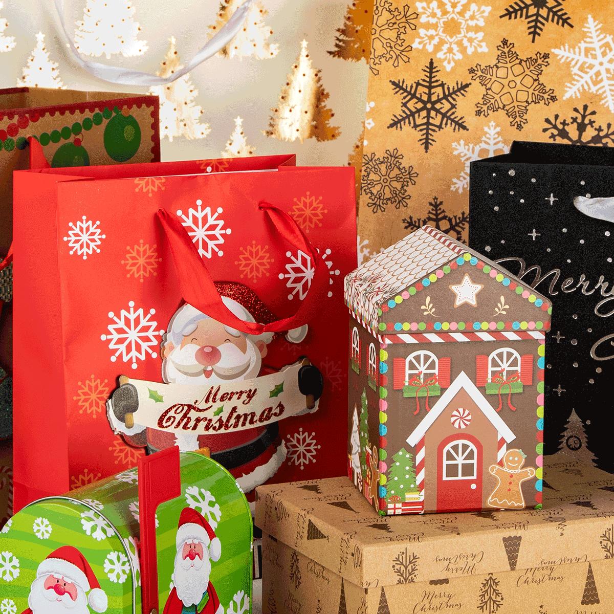 Geschenktaschen & Boxen