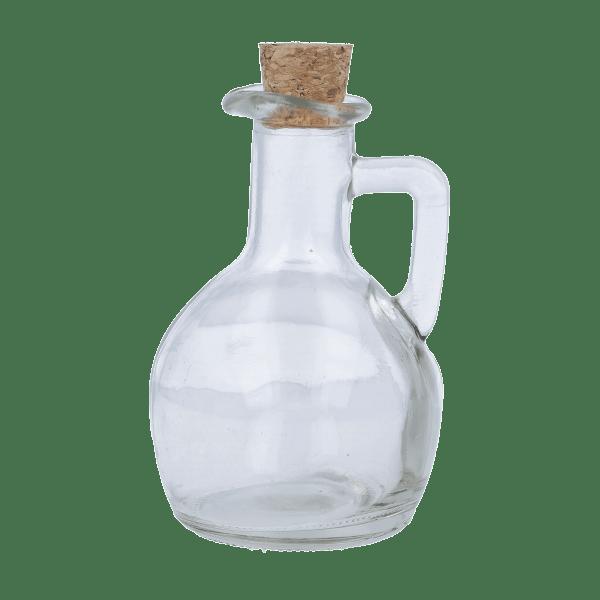 Glasflasche mit Henkel