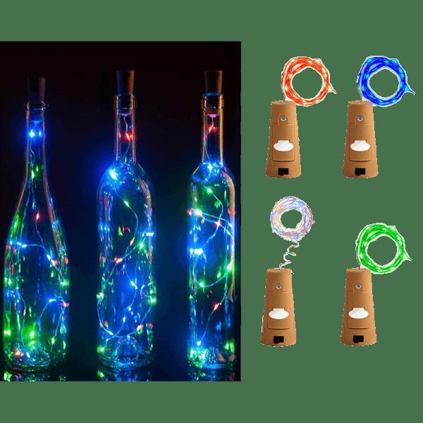 LED-Flaschenkorken-Lichter