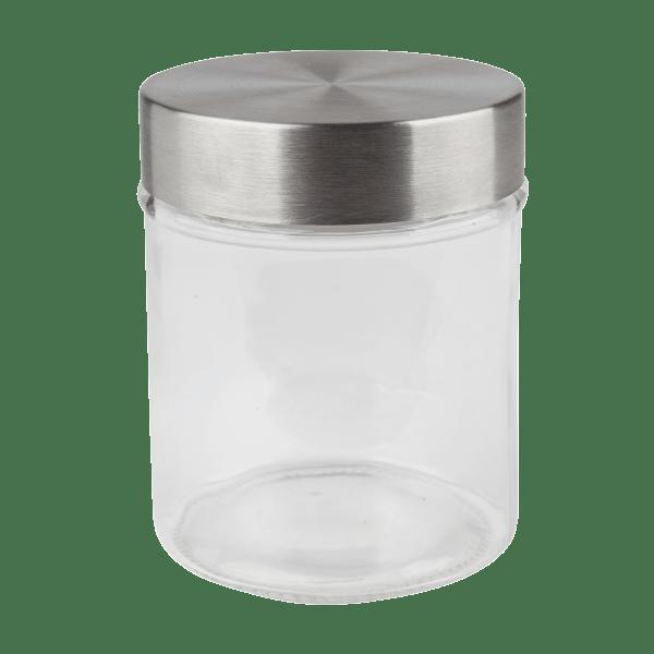 Vorratsglas mit Edelstahldeckel