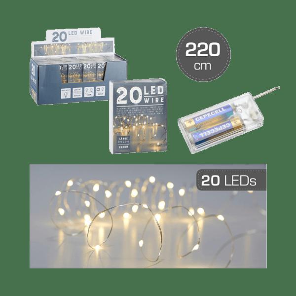 20er LED-Lichterkette