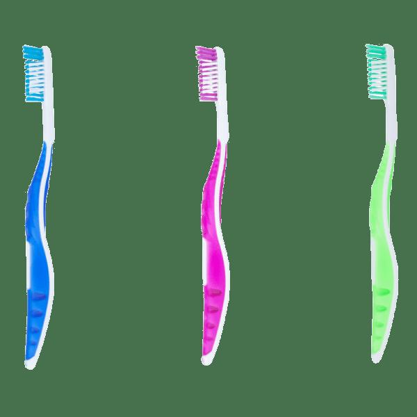 3er-Set Zahnbürste